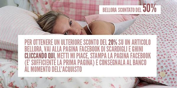 Bellora Scontato Al 50%!