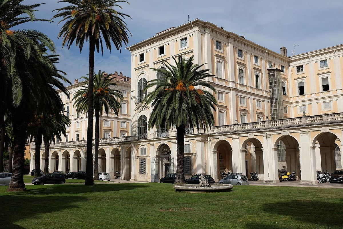 Palazzo Corsini Rear Entrance Angle AvL